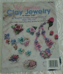 Plaid Enterprises 'Victorian Clay Jewelry' - Make Earrings, Pins & Necklaces!.