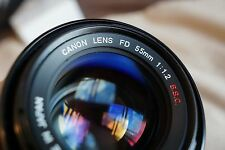 Canon FD 55mm f/1.2 S.S.C (SSC) Lens - Serial #110937