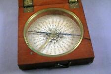 Bonne qualité vintage antique Coffret compas