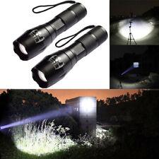 TAC1 TC1200 1800X Tactical Zoom Flashlight Blinding Seizure Inducing Strobe USA
