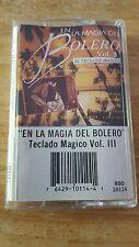EN LA MAGIA DEL BOLERO-VOL 3- CASSETTE-EXLNT CONDITION  !!