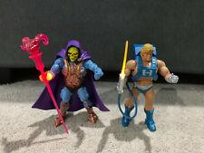 Masters Of Universe Classics loose Laser power He-Man Laser Light Skeletor
