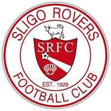 "Sligo Rovers FC Ireland Football Soccer Car Bumper Sticker Decal 4.6""X4.6"""