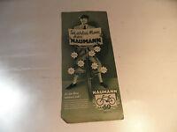 altes Blatt 50 Jahre Naumann Dresen Fahrrad Reklame Werbung old vintage