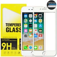 For iPhone SE (2020) Caseswill Premium 3D Curved Tempered Glass Screen Protector