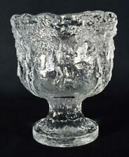 More details for vintage scandinavian glass kosta boda rhapsody bowl by kjell engman 1970s
