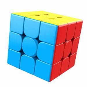 MoYu MeiLong 3x3 - stickerless Zauberwürfel Speedcube Magic Cube Magischer Wü...