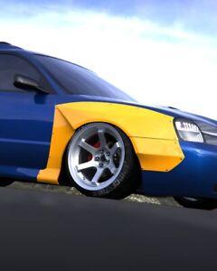 Front Wide body Subaru Legacy