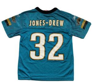 Reebok NFL Boys Jacksonville Jaguars Jersey #32 Jones-Drew Youth Small (8)