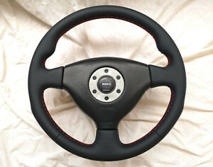 Mitsubishi Lancer EVO 4 5 6 CP9A MOMO TOMMI MAKINEN ED Steering Wheel NEW RETRIM
