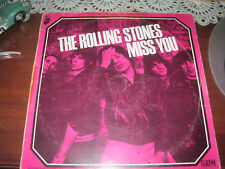 """ROLLING STONES- MISS YOU-12"""" MAXI-SINGLE PROMO-SPAIN, VERY RARE!!!!"""