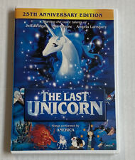 The Last Unicorn (DVD, 2007, 25th Anniversary Ed.)