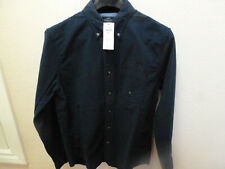 Abercrombie & Fitch Navy Blue Men Shirt Mens Size Small