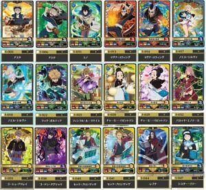 NEW Black Clover GRIMOIRE BATTLE Part1 Common Cards Set of 18 Official Japan