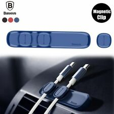 Baseus 3 Cable Clip Magnetic Organizer Universal Holder Wire Cord Management