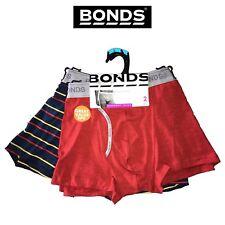 Mens Bonds Guyfront Trunks 2 Pack Cotton Stretch Seamfree Active Sport MY3NA L