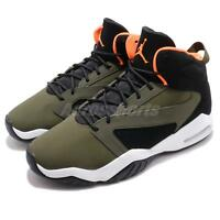 Nike Jordan Lift Off Olive Canvas Orange Men Basketball Casual Shoes AR4430-300