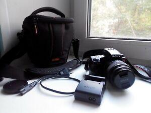 Sony Alpha SLT-A37 Digital SLR Camera Kit with DT SAM 18-55mm Lens, Bag, SD 16Gb