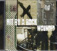 Hit By A Rock - Wounded (2012 CD) New & Sealed