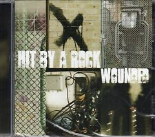 Hit By A Rock - Wounded (2012 CD) Jim Whelan - Electronica (New & Sealed)