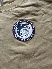 Lincoln Saltdogs Salt Dogs T shirt Men's L Large Fan Club