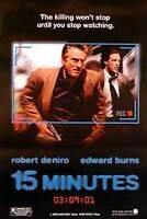 15 Minuten (Internationale) Original Filmposter