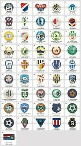 Badge Pin: European football clubs Czech Republic