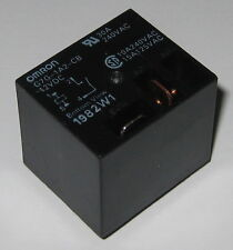 OMRON 125VAC 15A NO SPST PCB Mount Relay - 12VDC / 150 Ohm Coil - 240VAC 10A