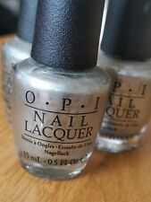 Opi Silver Nail Polish 'my Silk Tie' 15ml Genuine 50 Shades