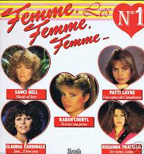 LP IBACH FEMME FEMME FEMME  K.CHERYL P.LAYNE C.CARDINALE D.TELL I.MAYEREAU