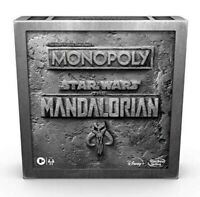 Monopoly Star Wars The Mandalorian Edition Board Game Brand New