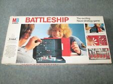 Vintage Battleship Board Game by MB Games 1975 Version Naval Strategy Game