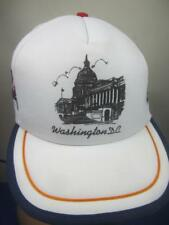 Vintage Washington D.C. Mesh Trucker Hat, Cap with Foam Inside ROC