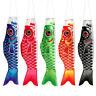 Japanese Carp Windsock Streamer Fish Flag Koinobori Outdoors Hanging Decor 100cm
