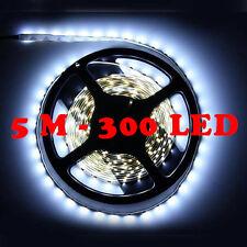 Ruban Led 5M 3528 Bande Lumineuse 300 LED SMD 12V Blanc