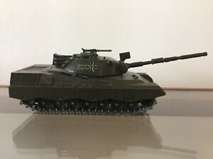 Solido 243 1/50 Kpz Leopard WW2 German Tank - Vintage Diecast Military