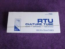 Bd Boroailicate Glass Culture Tubes 250 Ct 10 X 75mm Made In Usa