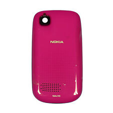 Nokia Asha 200 201 Cellphone Battery Door Standard Housing Cover Original Pink