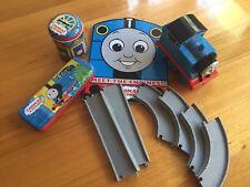 Thomas The Tank Mixed Lot Tracks,Book, Tin Pencil Case Money Box