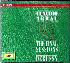 Claudio ARRAU The Final Sessions Vol.2 DEBUSSY Suite bergamasque Sarabande CD