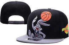 Space Jam Tune Squad Looney Tunes Cap Bugs Bunny Embroidered Adjustable Strap