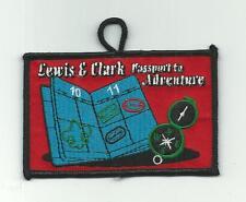 SCOUT BSA LEWIS & CLARK CAMP RESERVATION SIOUX CNCL PASSPORT ADVENTURE SD PATCH