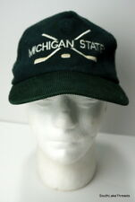 VTG Michigan State Spartans Hockey Corduroy Snapback Hat OSFA MSU