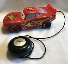 =Disney Supercharged Cars Lightning McQueen Remote Control Vehicle by Tyco