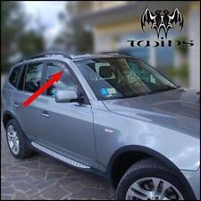Deflettori Aria Antiturbo Oscurati BMW X3 E83 Anteriori 2004-2010