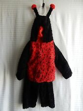 Halloween  LADYBUG COSTUME Size 4T TOP and PANTS BRAND NEW!!! Red and Black