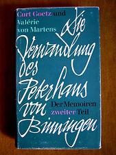 """""""Die Verwandlung des Peterhans von Binningen"""" von Curt Götz und V. von Martens"""