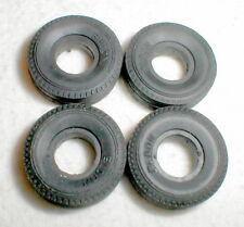 "4 Pack of Eldon Slot Car Tires Original 7/8"" X 1/4"" X 5/16""  Vintage 1960s NOS"
