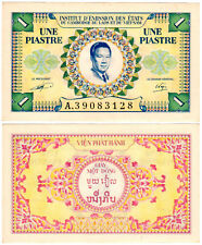 French Indo-China 1 Piastre P#104 (1953) XF/AUNC