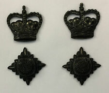 Rank Lieutenant Colonel,Officer Rank Stars, Pips,Crowns,Bronze,Army, Military